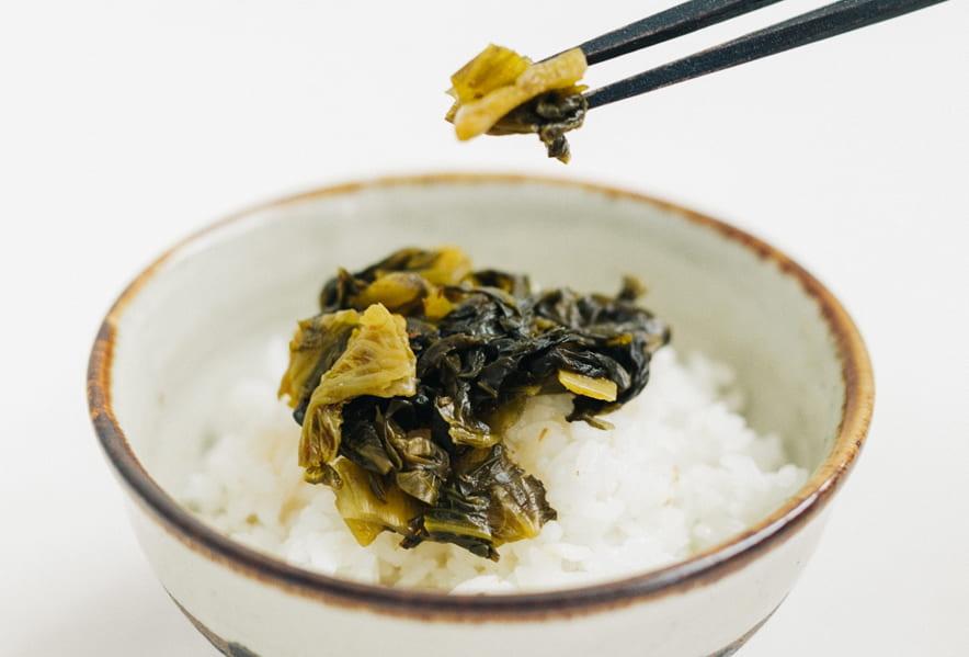 九州で採れる高菜について
