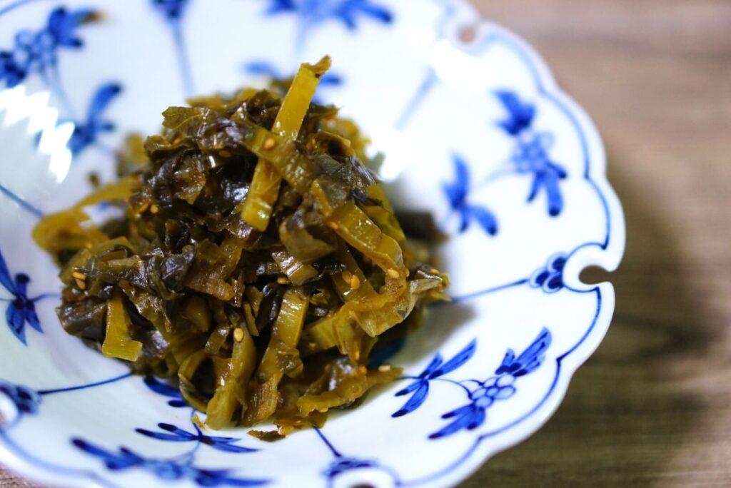 高菜(漬物)の歴史