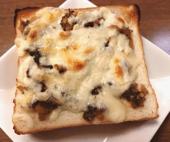 高菜チーズトースト