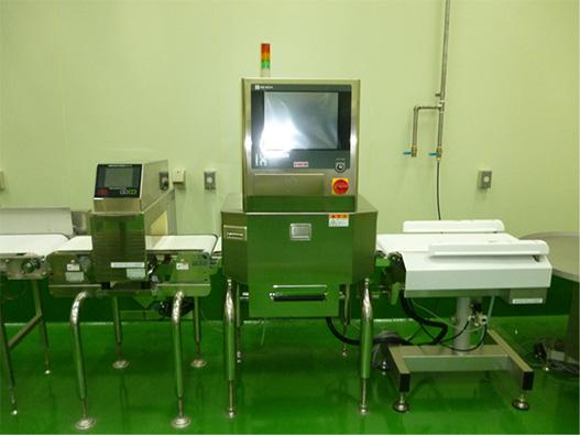 X線装置、金属探知機
